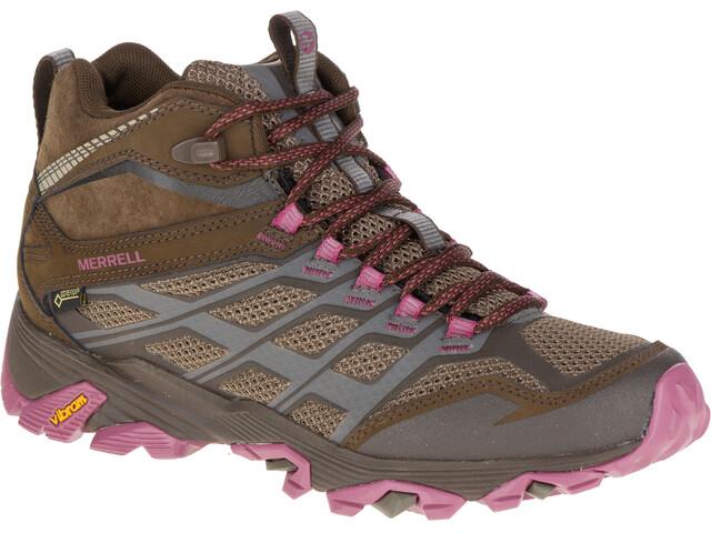 Merrell W's Moab FST Mid GTX Shoes Boulder